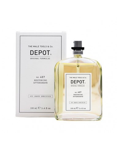 DEPOT NO. 407 RESTORING AFTERSHAVE