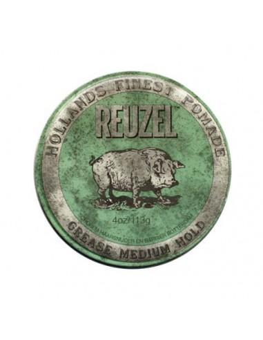 REUZEL GREEN POMADE - MEDIUM HOLD GREASE