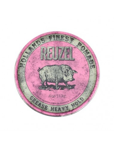 REUZEL PINK POMADE - HEAVY HOLD GREASE
