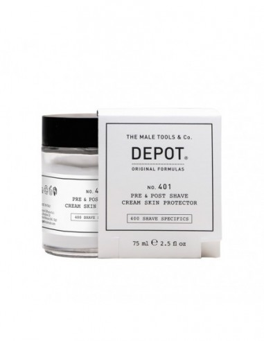 DEPOT NO. 401 PRE & POST SHAVE CREAM...